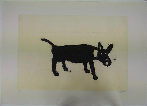 Perro, 75 x 106 cm, 2008 #AS70