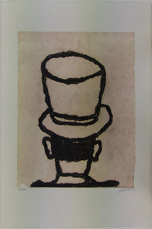 Cabeza 26, 58 x 38 cm, 2002 #AS37