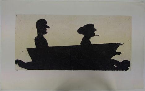 Paseo en lancha, 65 x 105 cm, 2010-2011 #AS74