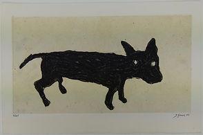 Perrito, 33 x 50 cm, 2010 #AS88.jpg