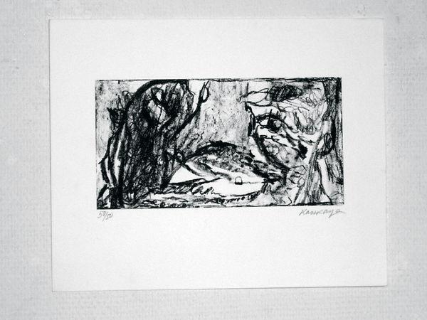 Pasnic Gravure de Ida Karskaya