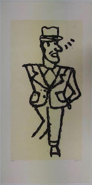 Juan Tenorio, 105 x 50 cm, 2008 #AS91