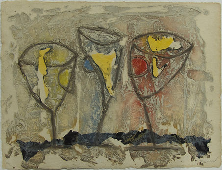 Cocktail, 52 x 68 cm, 1986 #PMB35