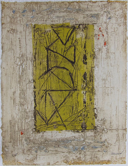 Chambre jaune, 64 x 48 cm, 1984 #PMB27