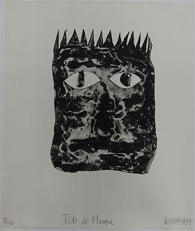 Tête_de_masque,_56_x_48_cm,_1999_#HDR13