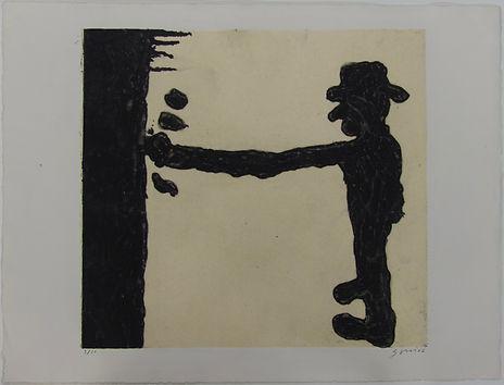 Pintor, 50 x 65 cm, 2002 #AS113