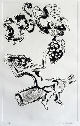 Pasnic Gravure de Augusto Foldi