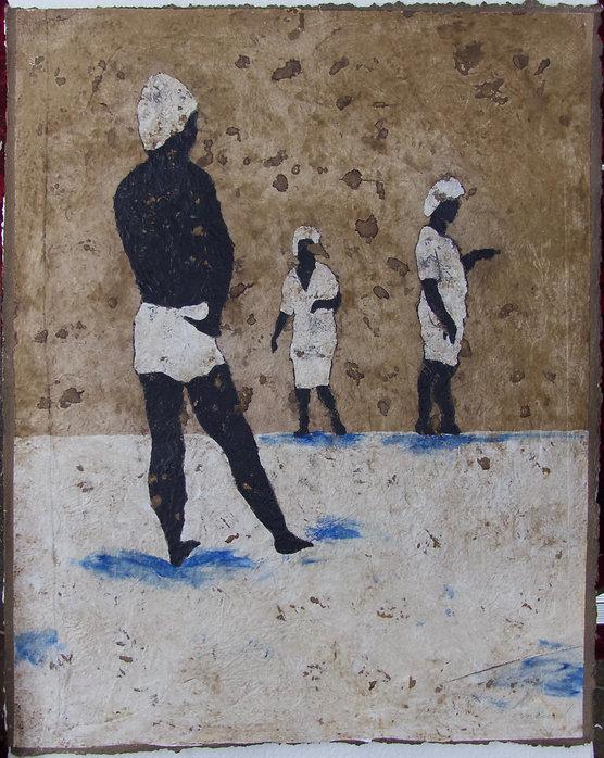 Bain de mer, 100 x 80 cm, 2007 #PMB37