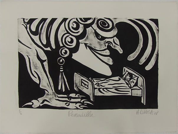 Pessadilla, 56 x 76 cm, 2008 #HDR12