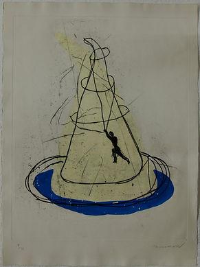 Attrapeur de montagne, 77 x 58 cm, 1991 #PMB24