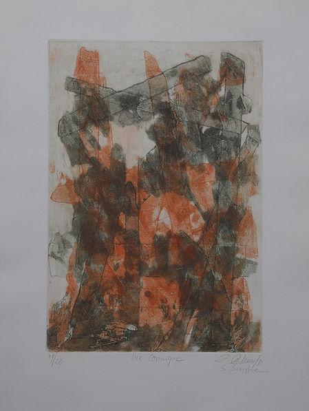 Pasnic Gravure de Dikran Daderian