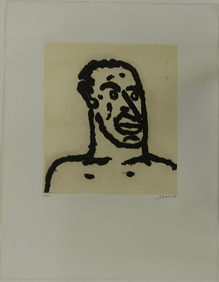Cabeza 14, 65 x 50 cm, 2002 #AS26.jpg