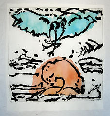 Pasnic Gravure de Monique Tello