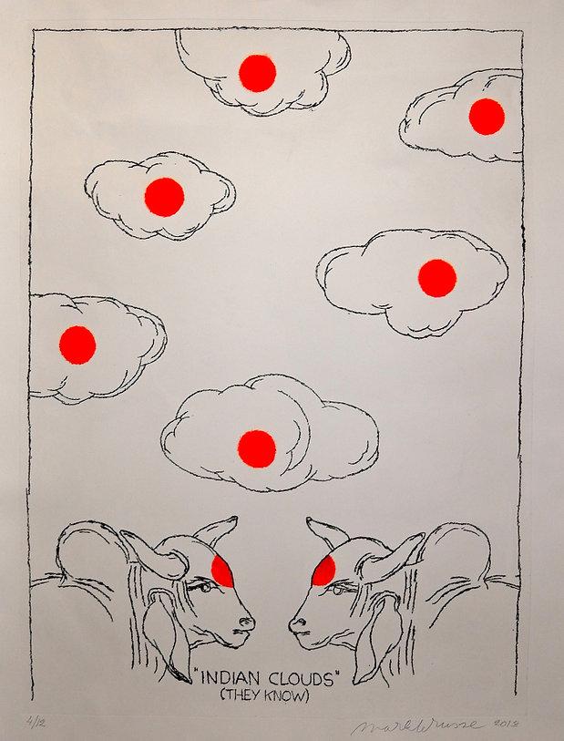 Pasnic Gravure de Mark Brusse