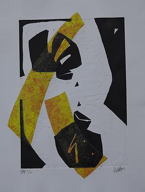 Pasnic Gravure de Bernard Alligand