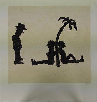 En el caribe, 80 x 75 cm, 2010-2011 #AS81