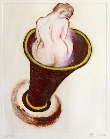 Pasnic Gravure de Sophie Sainrapt