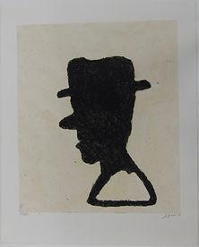 Escribano, 57 x 45 cm, 2010-2011 #AS107