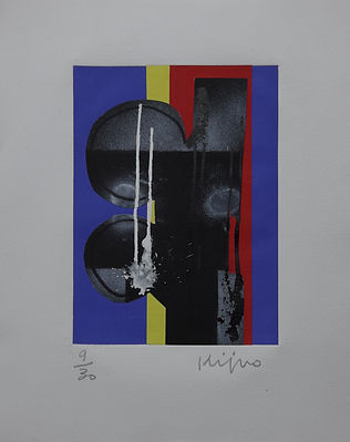 Pasnic Gravure de Ladisav Kijno