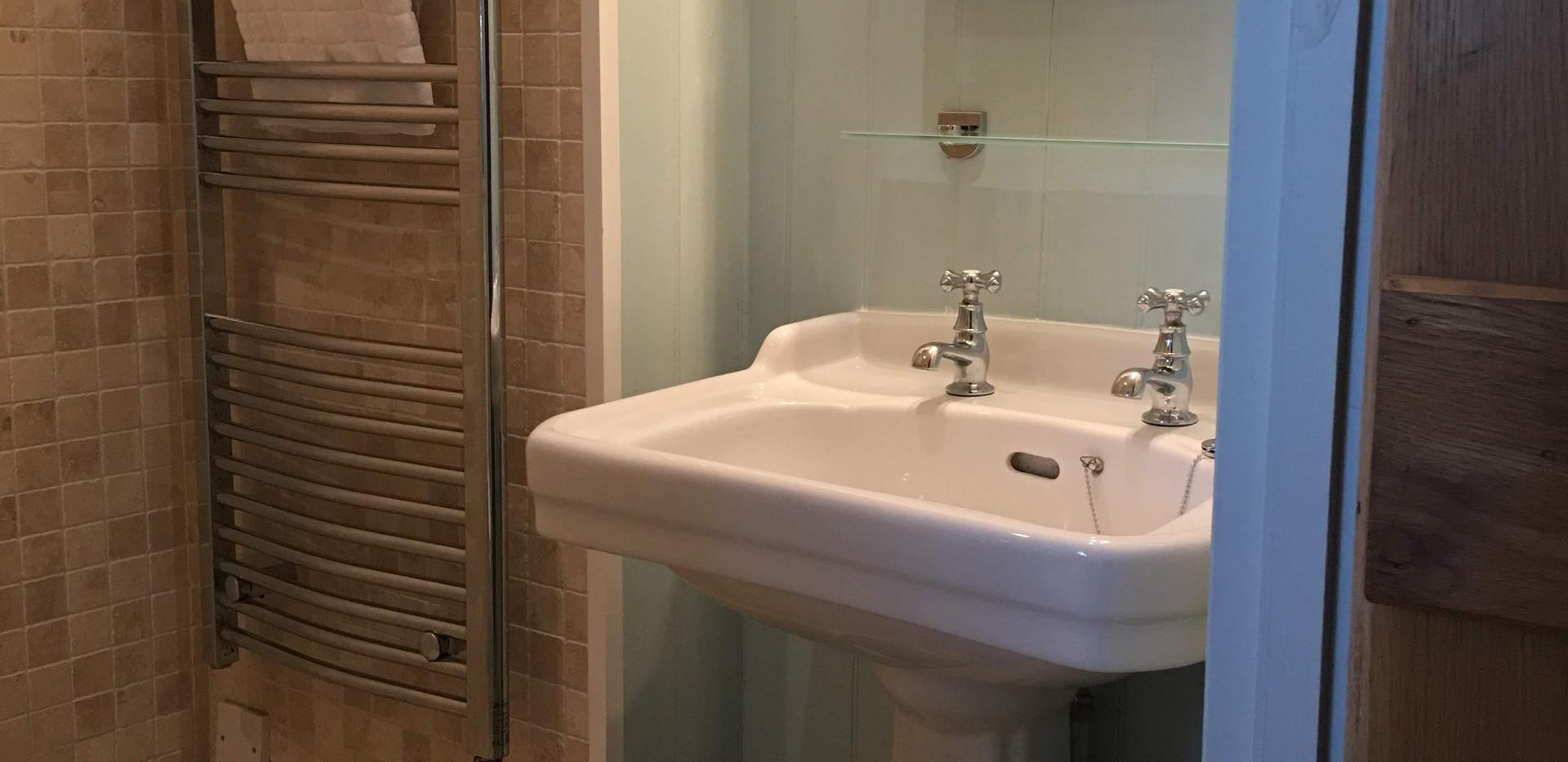 Main en-suite shower room & loo
