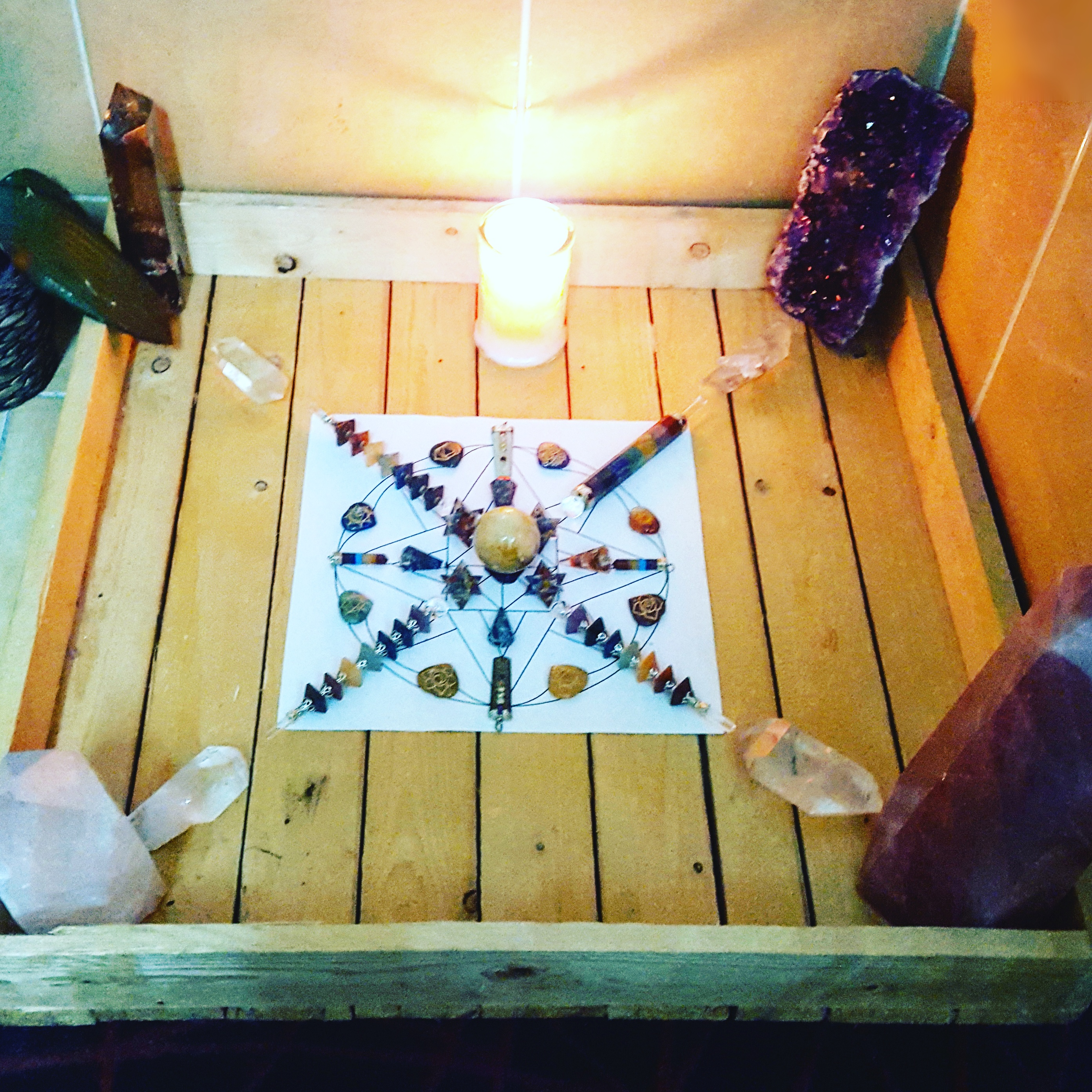 Rainbow Crystal Grid