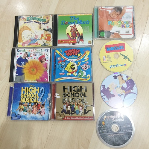 10 CDs For Kids