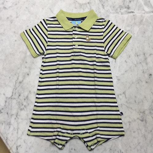 Size 1-2yr Boy Romper Polo