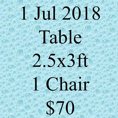 1 Jul 2018 Flea Market at Concorde Hotel