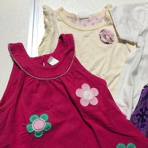 4pcs Size 1-2yr Girl Tops