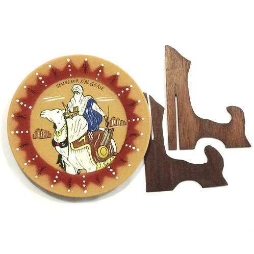 Free Delivery: Antique Camel Plate Display