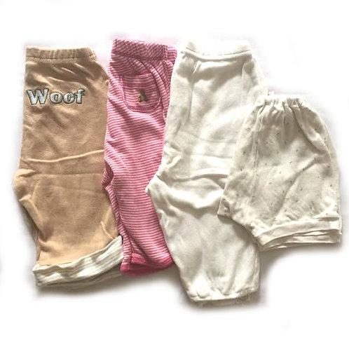 4pcs Size 0-6Mth Girl Bundle