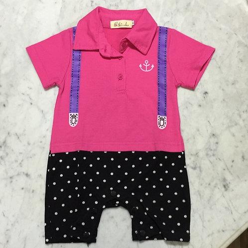 BN Size 6-8mths Girl Romper