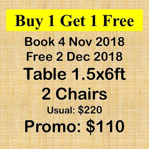 Nov & Dec 2018 Flea Market at Concorde Hotel