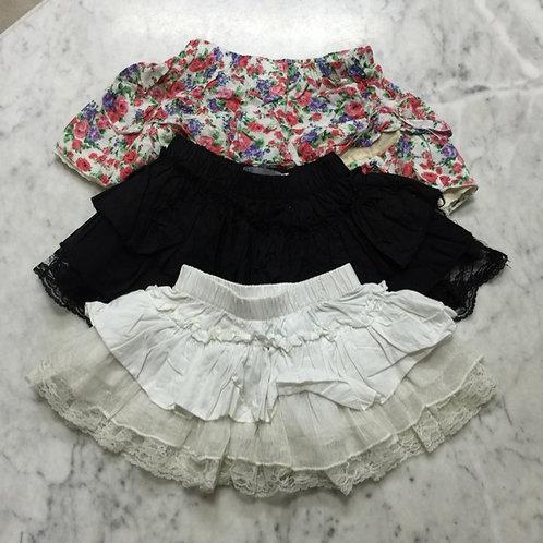3pcs Size 1-2yr Girl Skirts