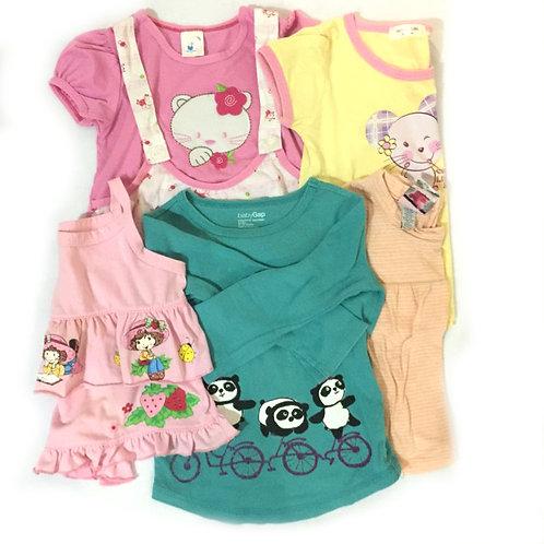 5pcs Size 1-2Yr Girl Bundle