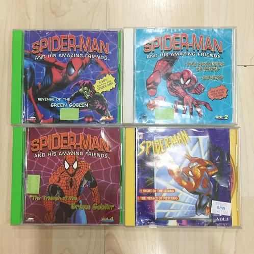 5 VCDs Spiderman