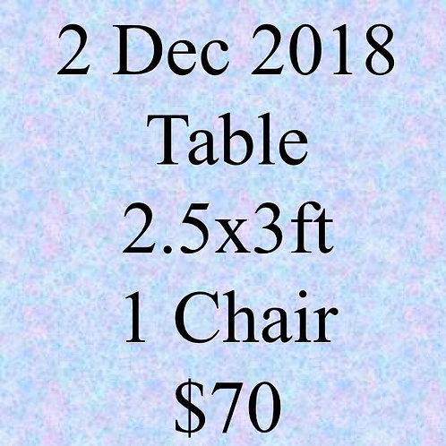 2 Dec 2018 Flea Market at Concorde Hotel