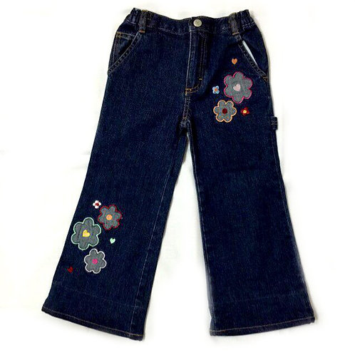 Size 3-4Yr Girl Jeans