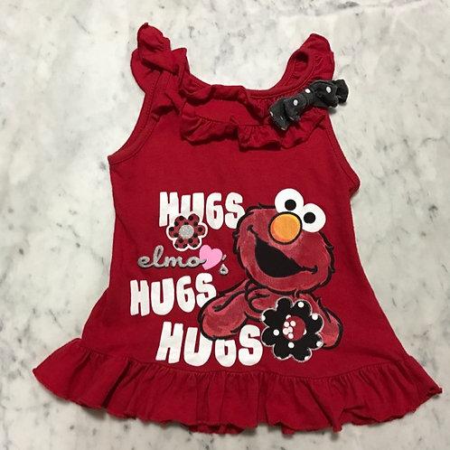 Size 1-2yr Girl Elmo Dress