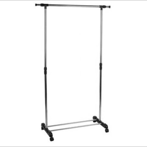 Bring Own Clothes Rack
