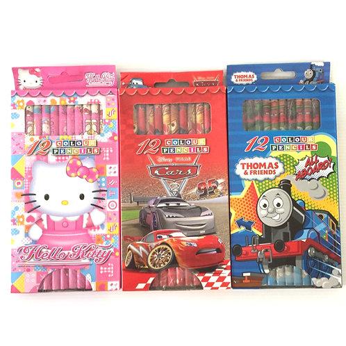 3 Sets Colouring Pencils