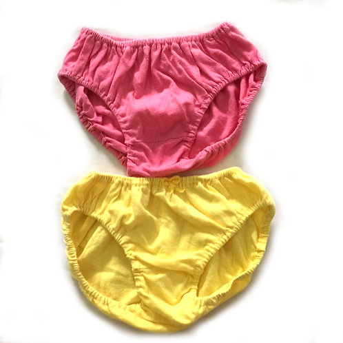 2pcs Size 1-2Yr Girl Panties