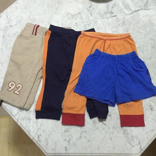4pcs Size 1-2yr Boy Pants