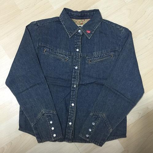 BN 8-9yr Girl Denim Shirt