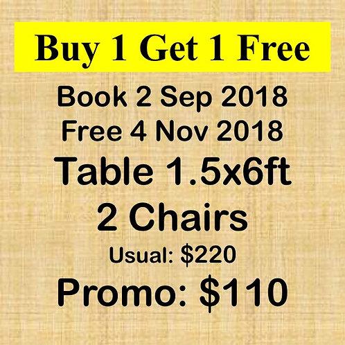 Sep & Nov 2018 Flea Market at Concorde Hotel