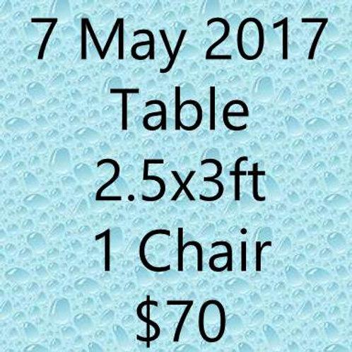 7 May 2017 Flea Market at Concorde Hotel