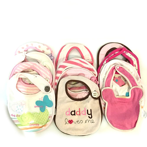 12pcs Bibs Bundle