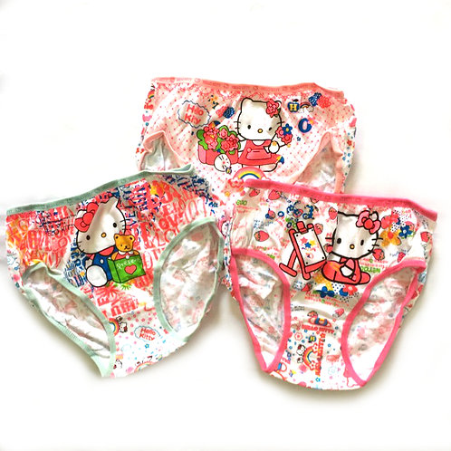 BN 3pcs Size 5-6Yr Girl Panties