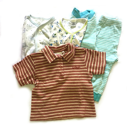 5pcs Size 6-12Mth Boy Bundle