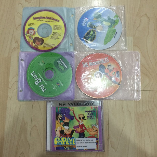 10 VCDs for Kids   fleamarketcomsgnew